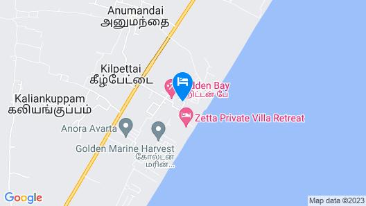 OYO 11870 Home Sea View 2BHK Anumandai Beach Map
