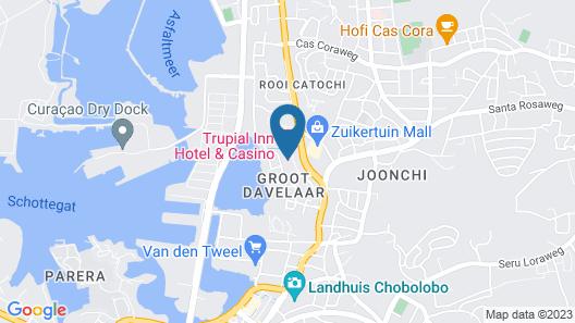 Trupial Hotel & Casino Map