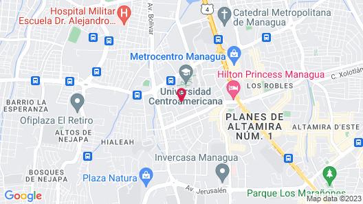 Verona Aparthotel Map