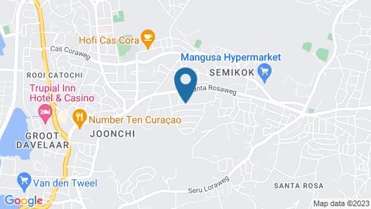 Alablanca Apartments, Residents Inn Map