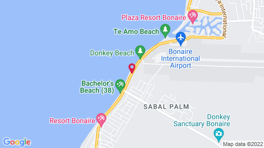 The Bellafonte - Luxury Oceanfront Hotel Map