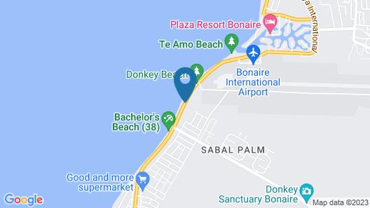 The Bellafonte - Luxury Oceanfront Hotel Map