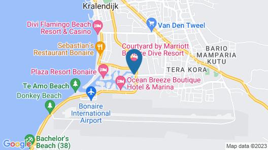 Courtyard by Marriott Bonaire Dive Resort Map