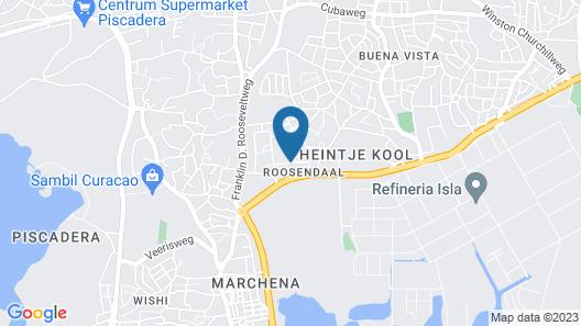 Apartamentos Cecil Paradise Map