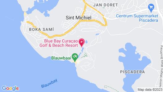 Blue Bay Curacao Golf & Beach Resort Map