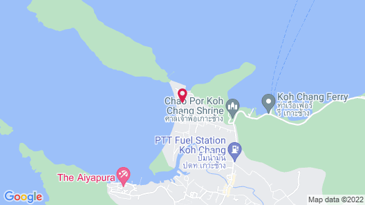 Peninsula Beach Resort Map