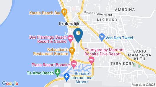 Sonrisa Boutique Hotel Map