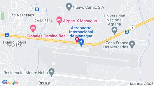 Best Western Las Mercedes Airport Map