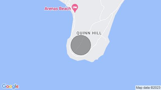 Sunhill Villa - Caribbean House on a Hill, 10 Min. From the Beach Map