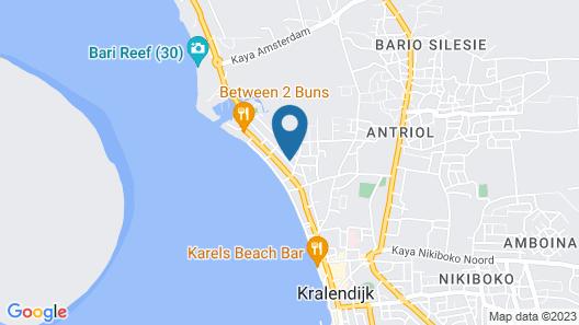Bonaire Fun Apartments Map