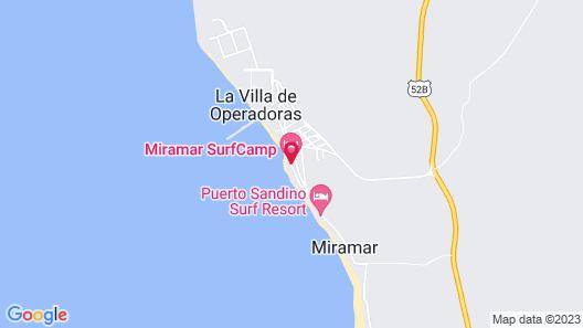 Miramar Surfcamp Map