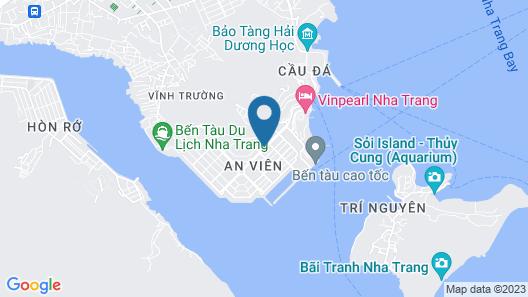 La Sera Suites Nha Trang Map