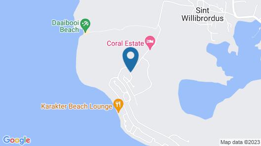 Oasis Coral Estate Beach, Dive & Wellness Resort Map