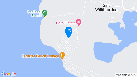 Coral Estate Luxury Resort Map
