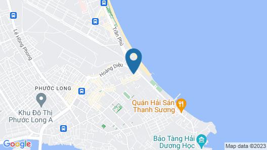 Yellow Sea Hotel Map