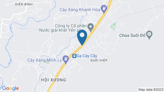 Van Anh Motel Map