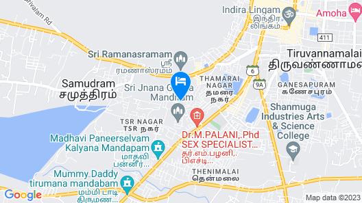 Ramana Towers Map