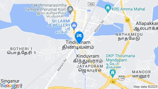 Ganesh Beach Resort Map