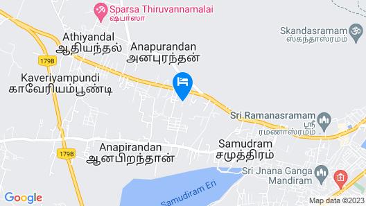 Arunai Anantha Resort Map