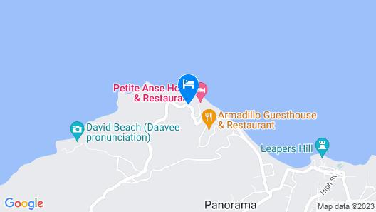 Petite Anse Hotel Map
