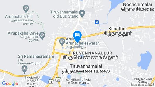 Trishul Hotel Map