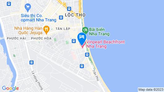 Nha Trang Beach Hotel Map