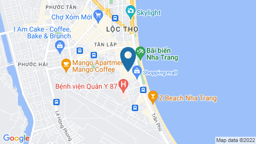 Rosy Hotel Map