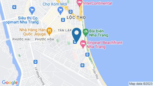 Souvenir Nha Trang Hotel Map