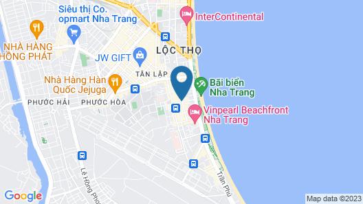 Liberty Central Nha Trang Map