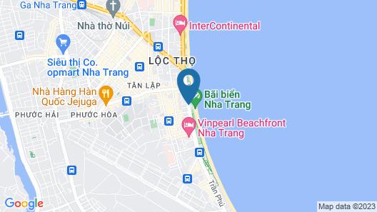 Gold Ocean Nha Trang Map