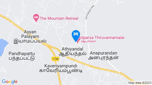 Sparsa Thiruvannamalai Map