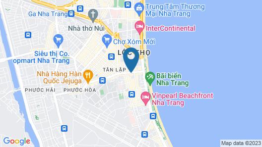 Bonjour Nha Trang Hotel Map