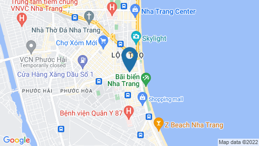 Panorama Nha Trang Hotel & Apartments Map