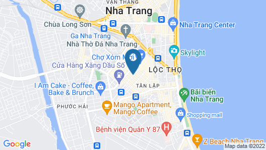 Queen Hotel Nha Trang Map