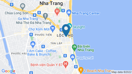 Quang Nhat Hotel Map