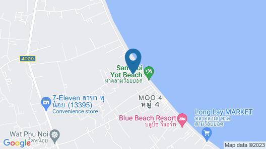 Exclusive Villa 130 meters to beach, swimming pool, hot pool, sea view, 4.5 bath Map