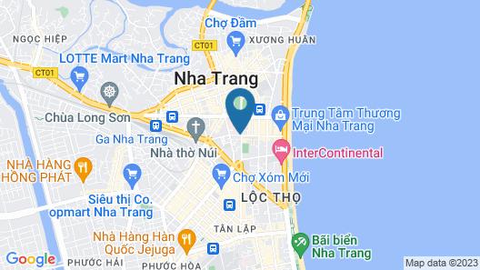 Tristar Hotel Map