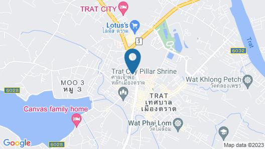 Baan Sai Thong Hotel Map