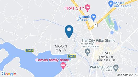 Paradiso Boutique Resort Map