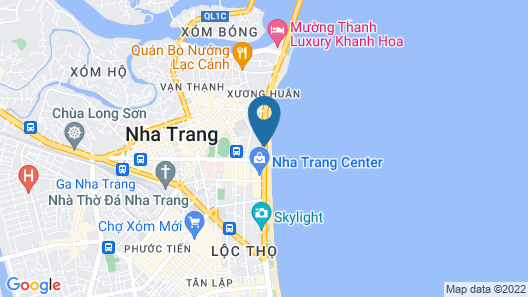Sunrise Nha Trang Beach Hotel & Spa Map