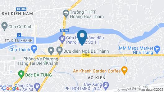 OYO 1015 Bon Mua Hotel Map