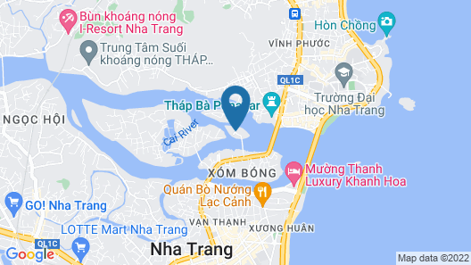 Champa Island Nha Trang Resort Hotel & Spa Map