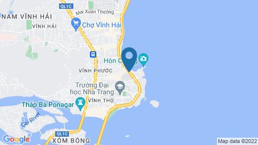 Vivid Seaside Homestay Map