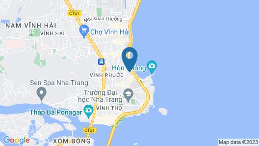 Kingstay Nha Trang Map