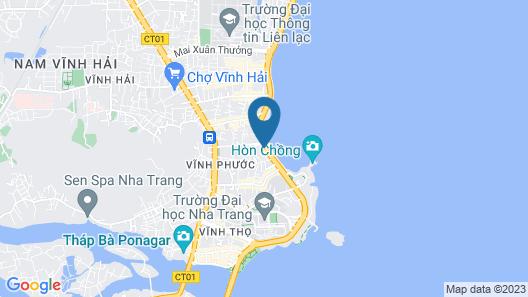 OYO 773 Hamy Apartment Map
