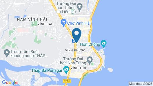 Hoang Van Homestay Nha Trang Map
