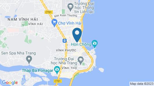 AHA Hoang Van Homestay Nha Trang Map