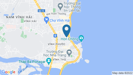 Muong Thanh Luxury Vien Trieu Hotel Map