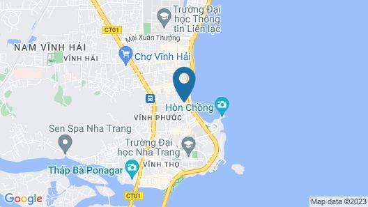 Bayhomes Muong Thanh Nha Trang Apartment Map