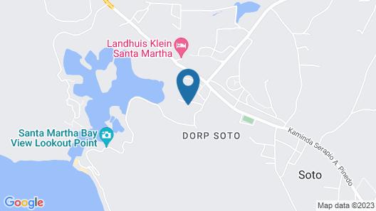 Landhuis klein Santa Martha Map